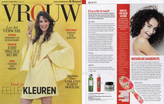 Rock & Ruddle Vrouw/Telegraaf 2 juni 2018