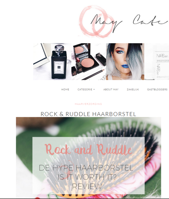 Rock & Ruddle MayCate.com April 2018