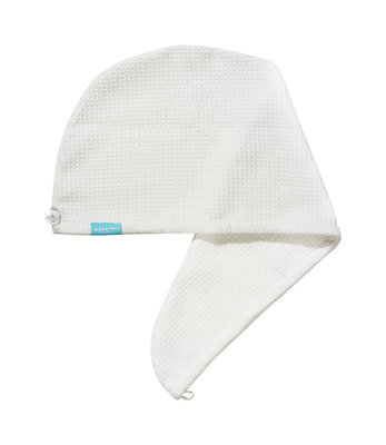 Aquarius Hair Turban White