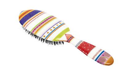 Rock & Ruddle Gekleurde Strepen Haarborstel