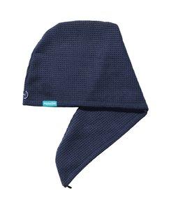 Aquarius Hair Turban Navy Blauw. Ook geschikt voor geverfd haar.